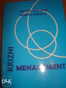 Krizni menadžment knjiga