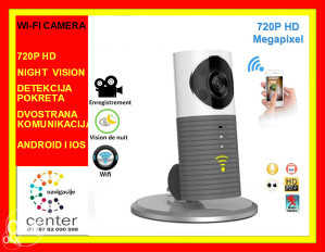 WIFI SMART IP KAMERA  CLEVER DOG 720P HD