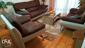 Garnitura - trosjed,dvosjed i fotelja