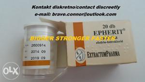 EFEDRIN 50mg 20kom Epherit t3 norditropin