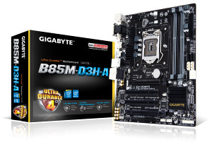 Nova matična ploča GIGABYTE GA-B85M-D3H-A