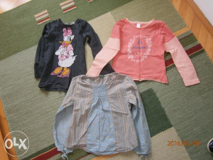 H&M Disney majica-siva.Broj 116.Vlatka,Paškova cura