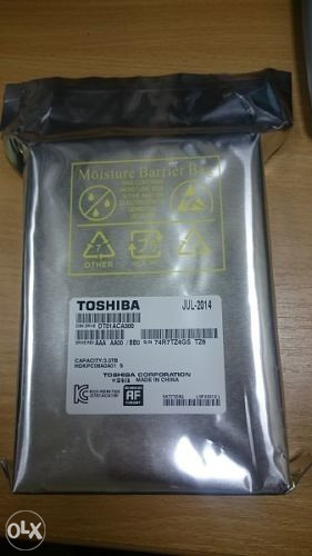 NOV HDD SATA3 7200 3TB Toshiba DT01ACA300, 64MB Cache