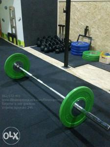 Olimpijska šipka sa ležajevima 220cm