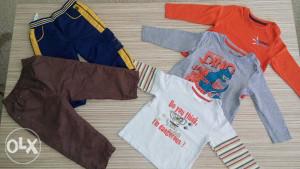Majice za djecake 3x 2xhlace