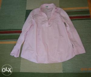 Benetton,trudnička košulja.Vel.M.NOVA!!