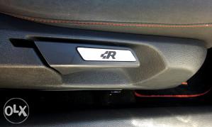 VW golf 5 R 32 V znak sjedista R naljepnice za sjediste