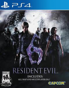 RESIDENT EVIL 6 PLAYSTATION 4 PS4 GRATIS HIT IGRE