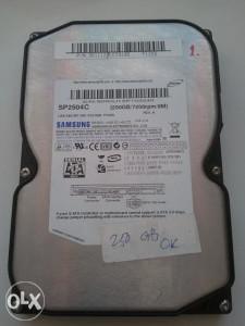 Hard disk / HDD 250 GB/7200rpm/8M, SATA, Samsung