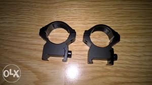 """Prstenovi nosači za optiku 25,4"""" šina 21mm"""