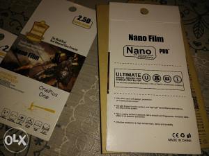 Oneplus one Nano Film (tempered glass)