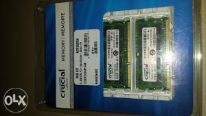 CRUCIAL DDR3 12800  1.35v RAM Memorija
