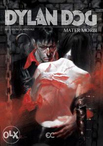 Dylan Dog - Mater Morbi (Epicenter) crna naslovnica