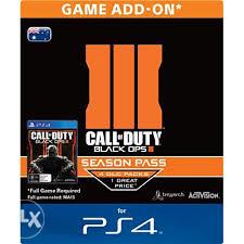 PS4 Call of Duty: Black Ops 3 - Season Pass