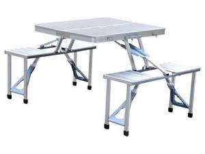 Aluminijski sto za piknik -rasklopiv