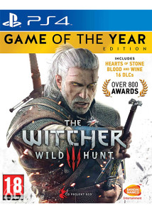 Withcher  3 Game of Year Edition (PS4)
