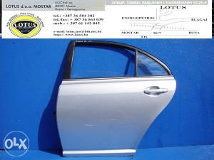 Avensis 03/07-zadnja lijeva vrata (ostali dijelovi)