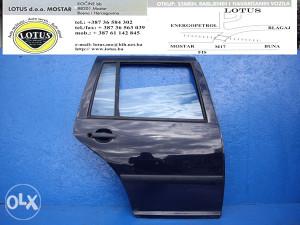 VW Golf 4 Car.-zadnja desna vrata (ostali dijelovi)