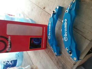 Brembo poklopci kocnica klijesta prednji plavi