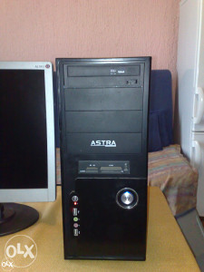 Pc astra core2duo,500 gb hdd,2 gb ram,win 7