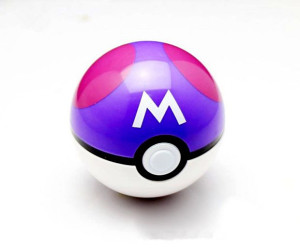 Pokemon Master ball Poke lopta Pokeball CRNA