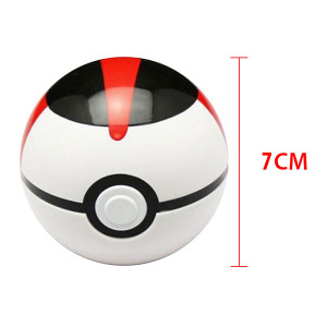 Pokemon Super ball Poke loptica CRNA
