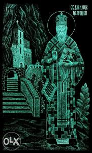 Sveti Vasilije Ostroški gravura