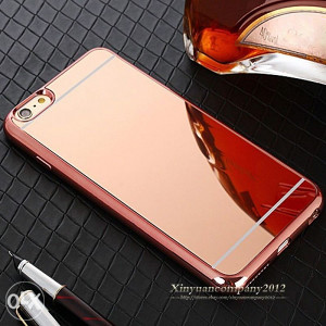 Iphone 6 maska ogledalo rose gold