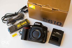 Nikon D610 FX **MINT STANJE**