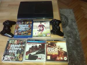 PlayStation 3 SuperSlim Gta V+5 Igara