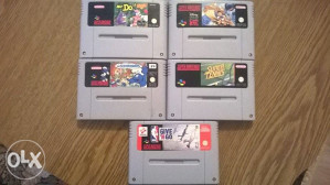 Super Nintendo igre (5 Komada)