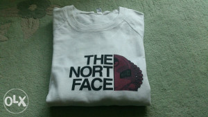 The north face dukserica