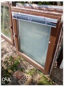 Smeđi plastični prozori