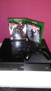 Xbox one + hit igre(detaljno).