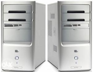Hp dual core,320 gb hdd,2 gb ram,win 7