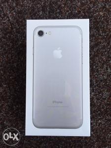 Iphone 7 128GB / Silver / SimFree / NOVO