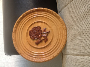 ukrasni drveni tanjiri