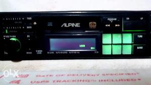 Alpine kasetofon