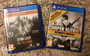 PS4 Dying Light ( the following ) + Sniper Elite 3