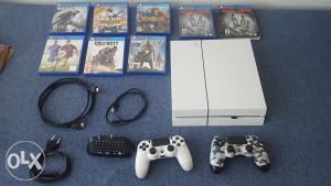 Playstation 4 (PS4) 500GB 2 dzojstika 7 igri