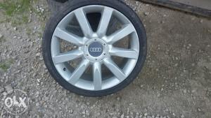 KO NOVE FELGE I GUME 19,Audi ORIGINAL pasat WW, - 750KM