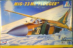 Italeri #057 1/72 MiG-23ML Flogger