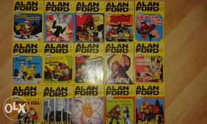 Stripovi Alan Ford klasik 15 kom
