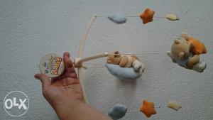 Vrtuljak dječija igracka mede