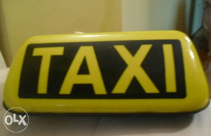 Taxi znak taksi