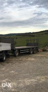 Prikolica  troosovinka za kamion