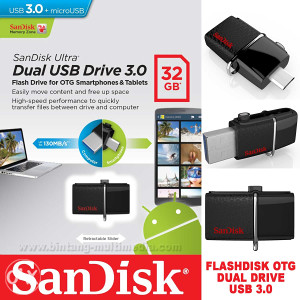 SanDisk USB 32GB  Ultra Dual Flash USB , USB za mobitel