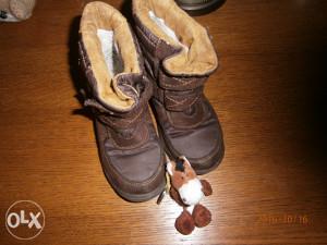 Čizme Richter,kao nove,nepropusne,futrovane.Br.25