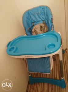 Stolica za hranjenje Yummy Blue