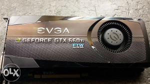 Gejmerska graficka EVGA GeForce GTX 660 Ti FTW